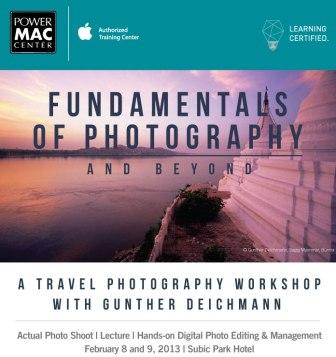Travel Photography Workshop