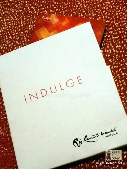 Resorts World Manila Indulge Card