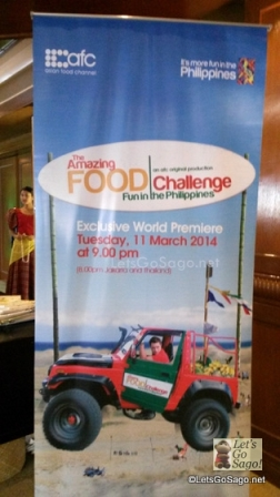 Asian Food Channel press Conference