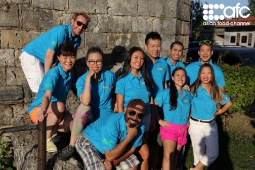 Amazing Food Challenge Contestants from around Asia