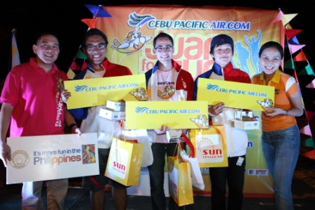 Cebu Pacific Juan for Fun Backpacker Challenge 2014