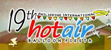 19th Philippine Intl Hot Air Balloon Festival