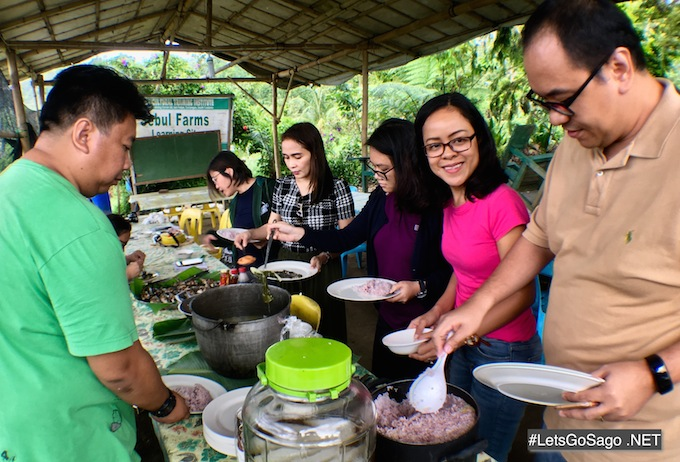 Sebul Farm lunch