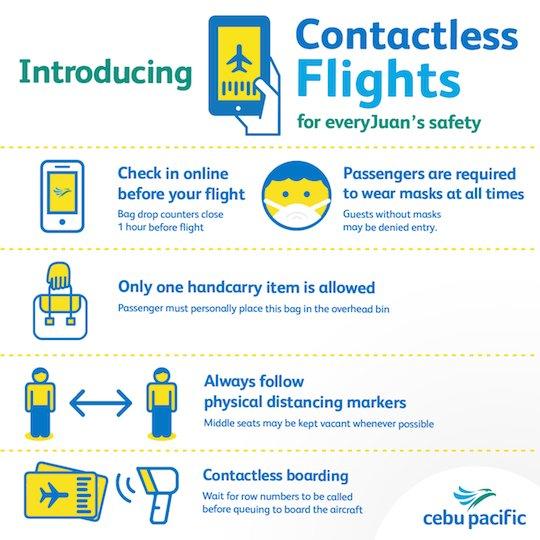 Cebu Pacific Contactless Flights