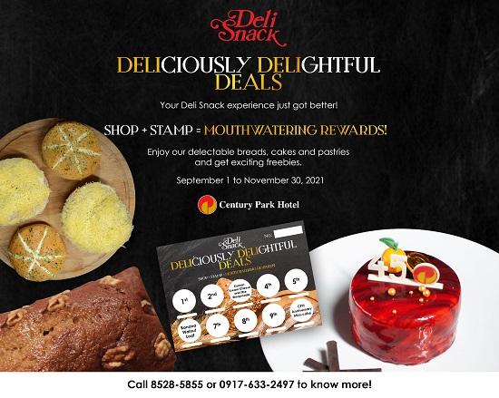 Deli Snack Rewards Card